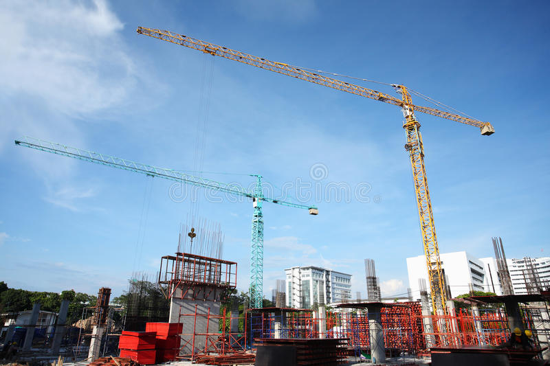 Download Construction site stock photo. Image of frame, jenny - 26844860