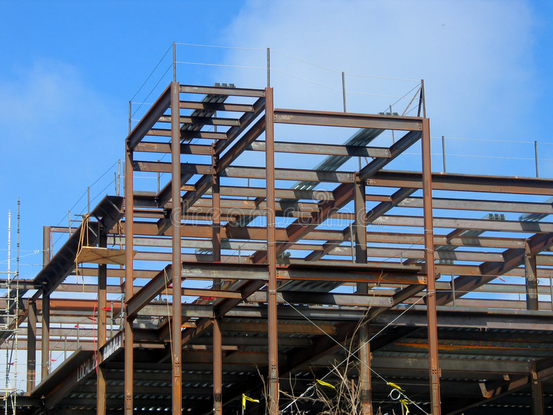Construction site 3 royalty free stock photo