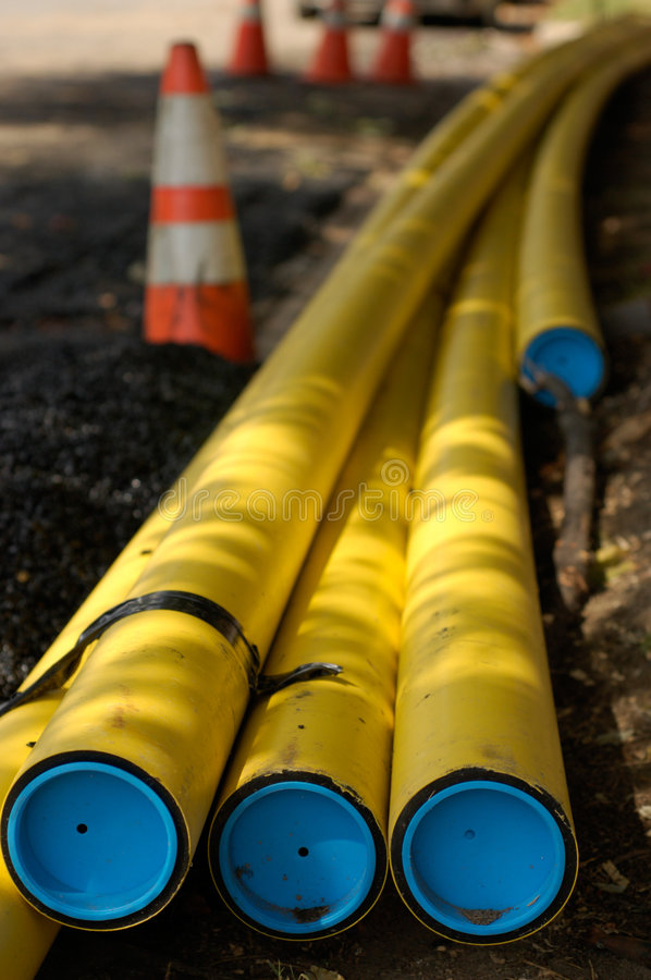 Download Construction site stock image. Image of street, pipes, industry - 315773