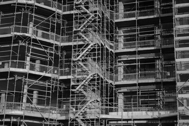 Download Construction Site stock photo. Image of construction, scaffolding - 456694