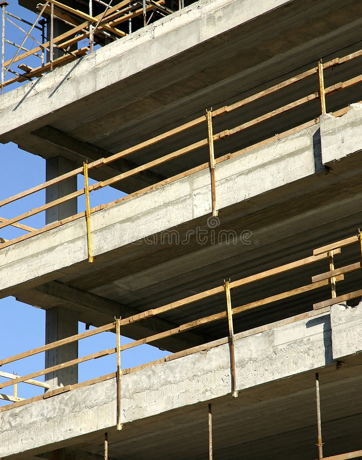 Download Construction site stock photo. Image of parallel, barrier - 464280
