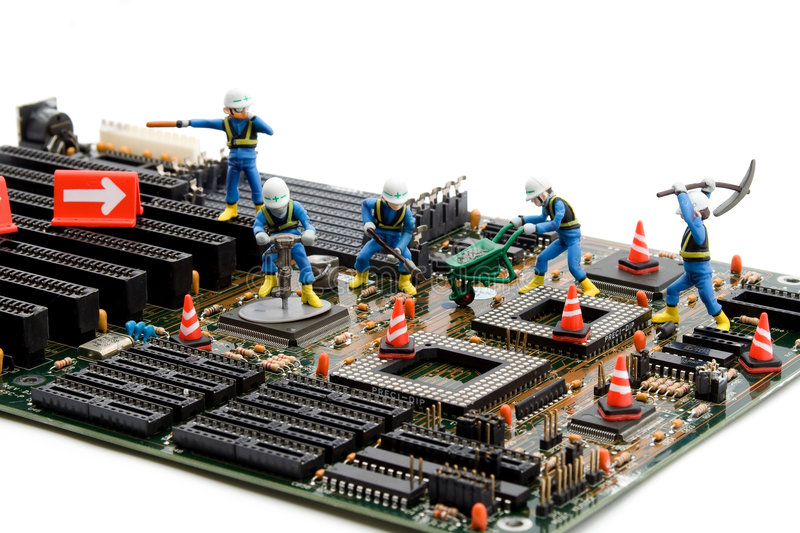 Download Construction site stock image. Image of electronics, site - 6300199