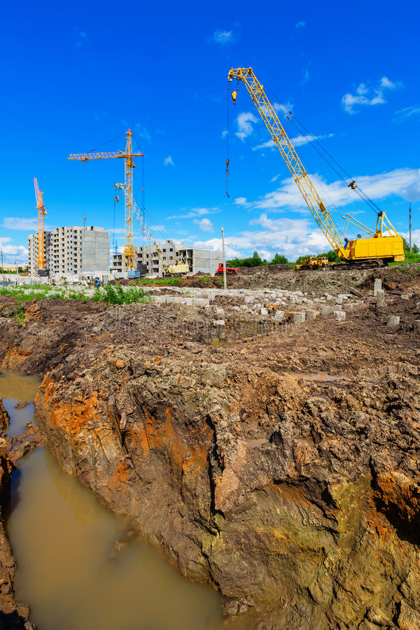 Download Construction site stock image. Image of construction - 31768497