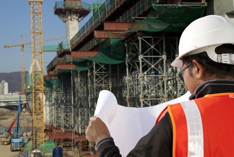 Download Construction Site Inspector Stock Image - Image of excavator, inspector: 28945115