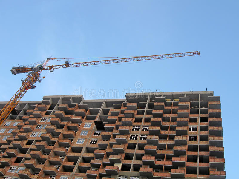 Download Construction Site, New Building Concept Stock Image - Image: 13464411