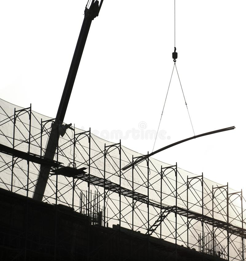 Construction Site in Outline