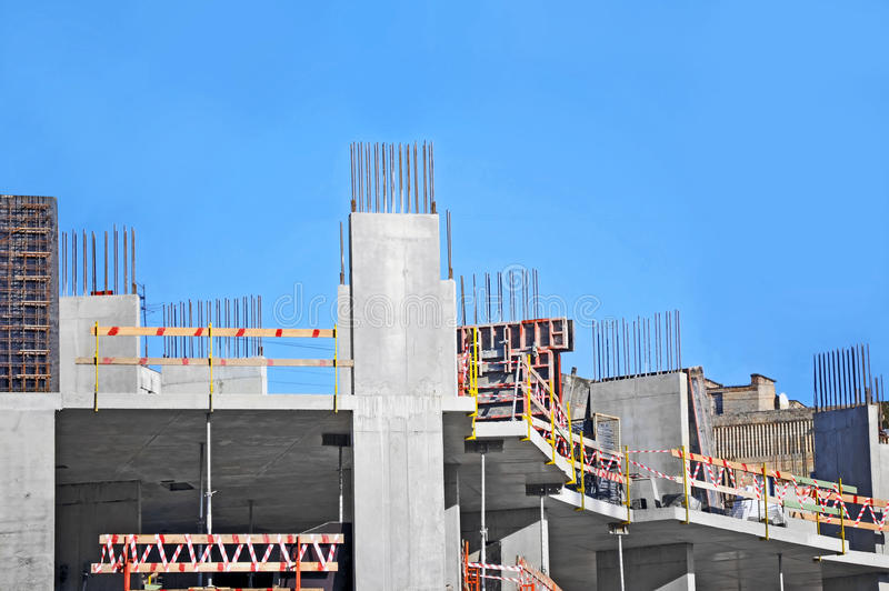 Download Construction site work stock image. Image of development - 34998065