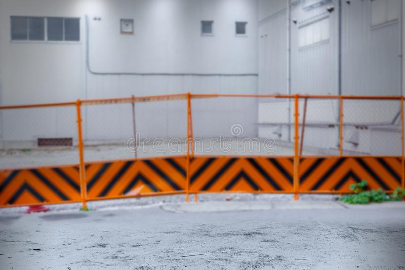 Construction site for construction tools equipment advertising banner background royalty free stock image