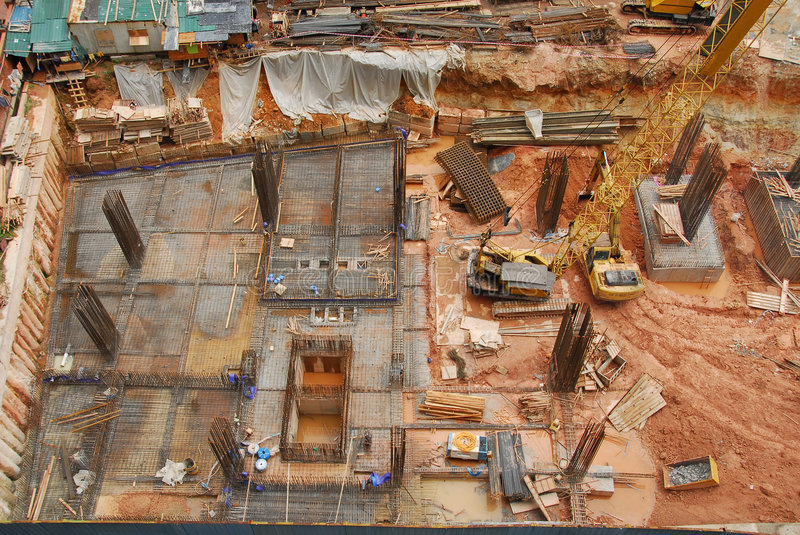 Construction Site3 images stock