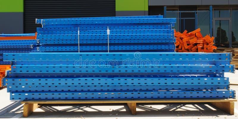 Construction steel beams