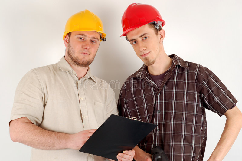 Construction team #11 royalty free stock images