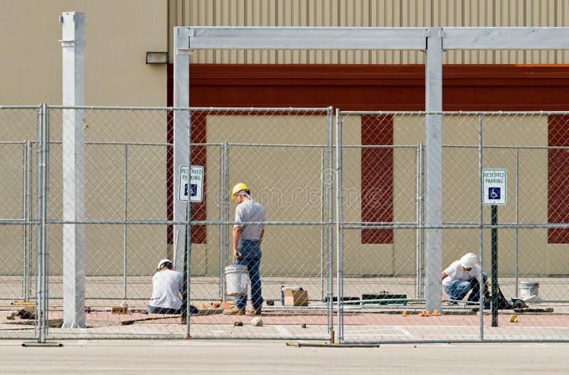 Construction Teamwork stock images