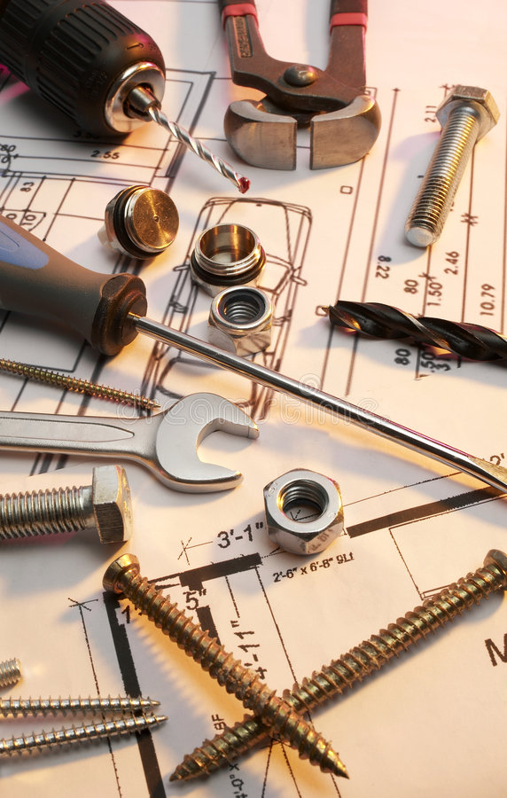 Download Construction tools series stock photo. Image of image - 4374620