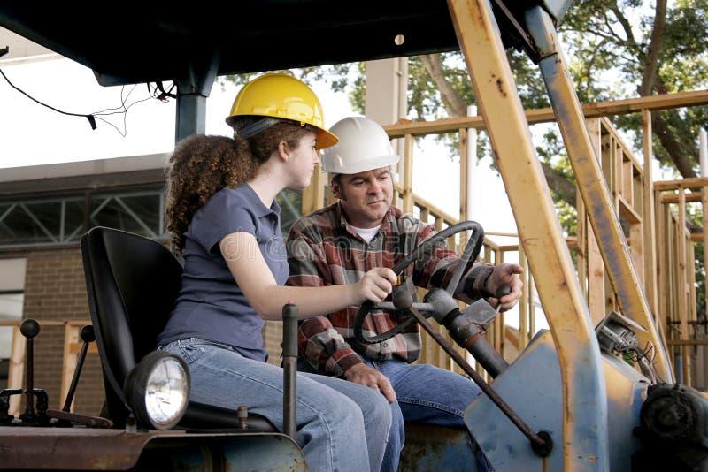 Construction Training stock photography