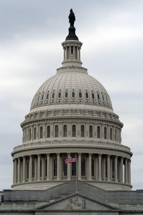 Construction unie de capitale de l'État photo stock