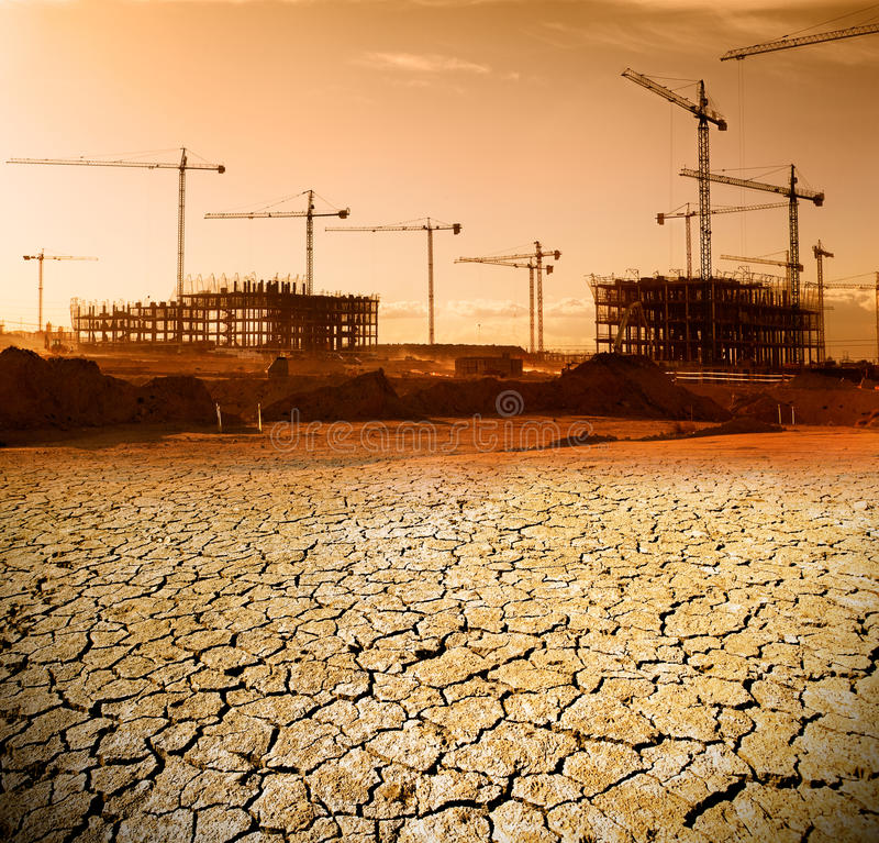 construction and urban planning concept royalty free stock photography