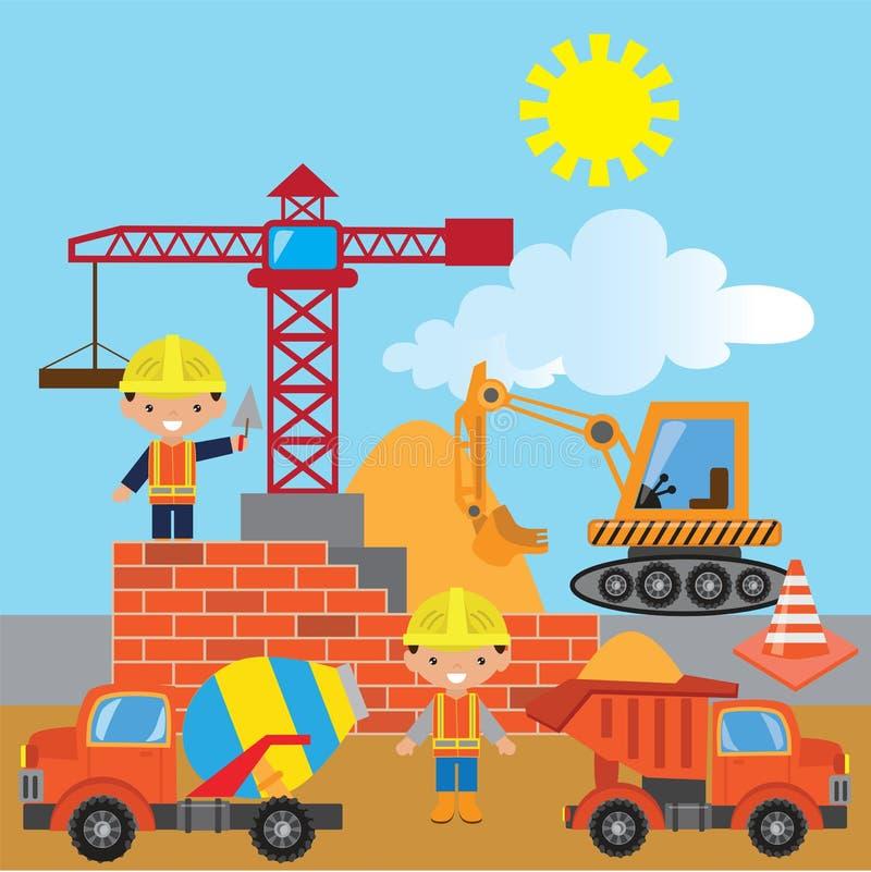 Construction vector illustration stock illustration