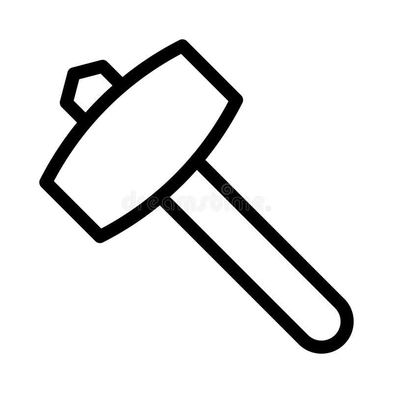 Free Construction Vector Thin Line Icon Royalty Free Stock Photos - 163183168