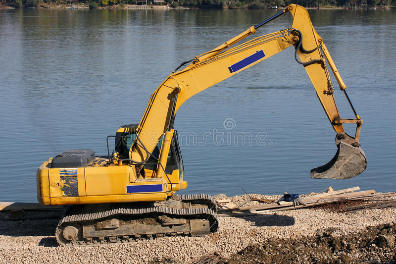 Construction vehicle stock photography