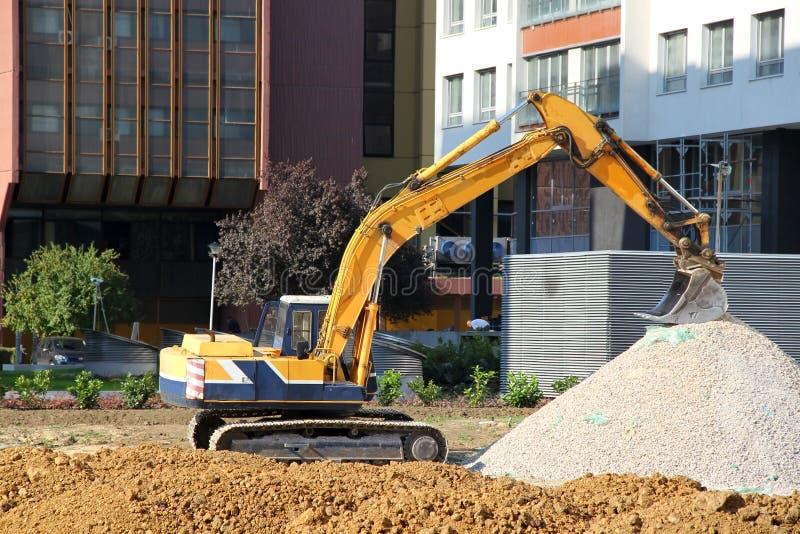Construction vehicle royalty free stock photos