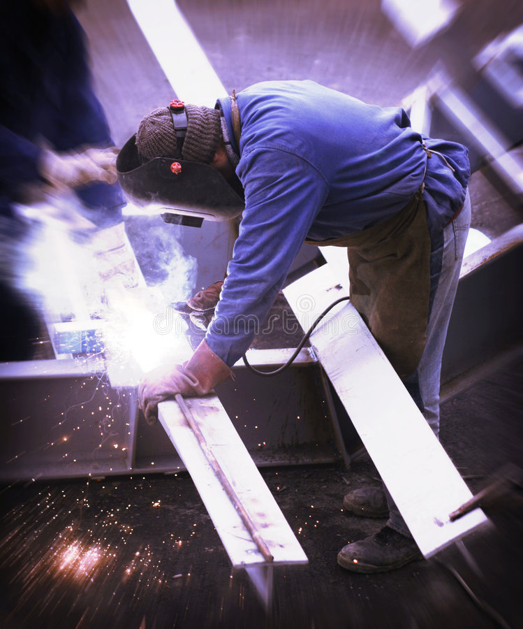 Download Construction Welder stock image. Image of light, metal - 5981763