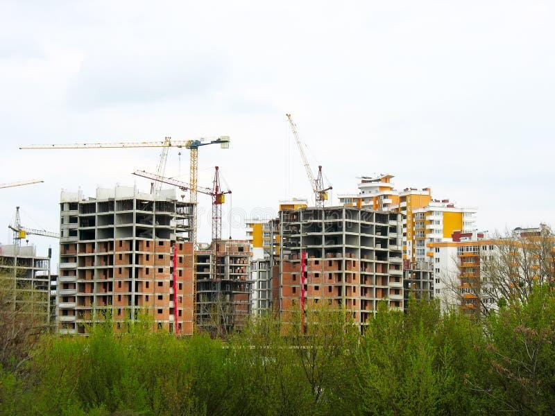 Construction work site place concept