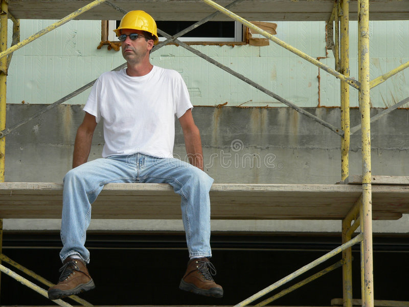 Construction Worker 1 stock images