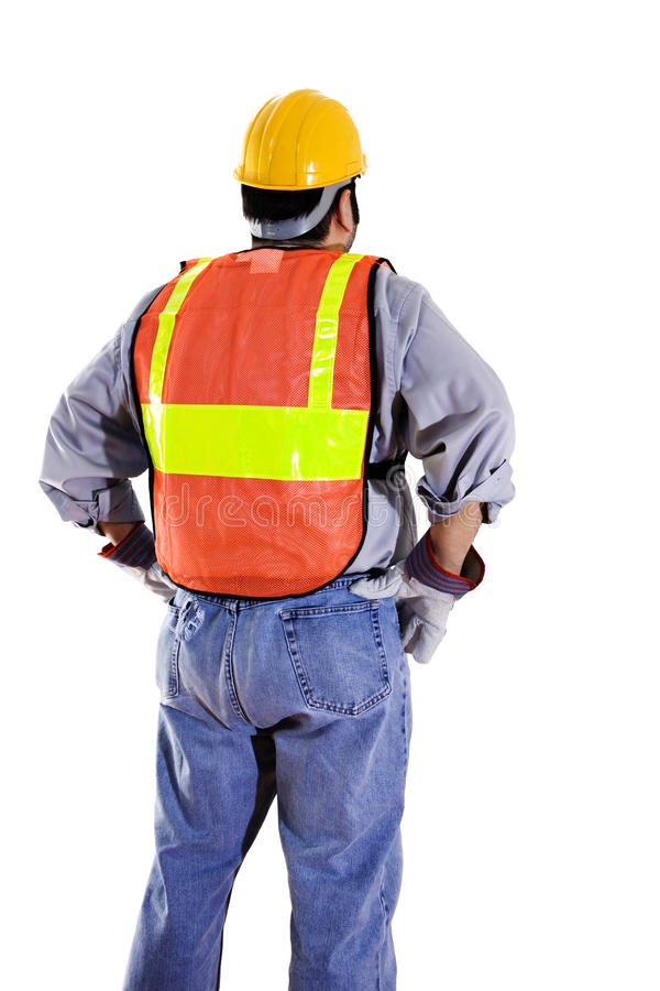 Download Construction worker stock image. Image of business, collar - 13095233