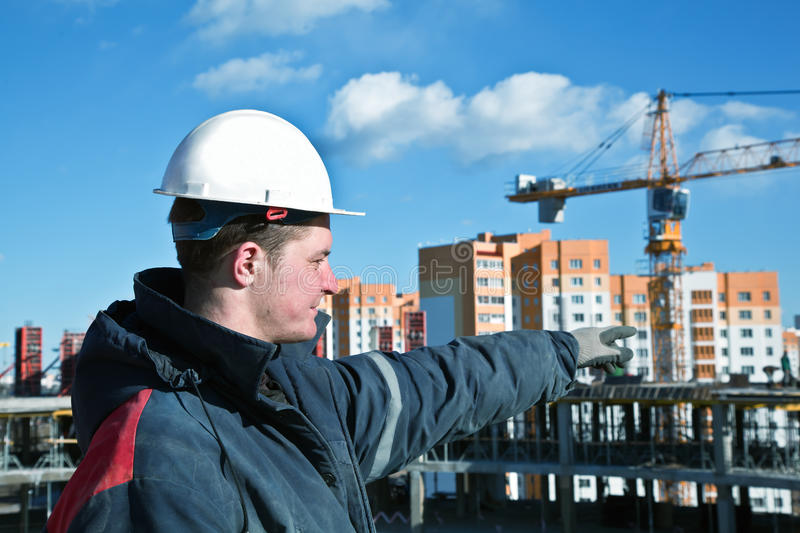Download Construction worker stock image. Image of craftsperson - 19531857