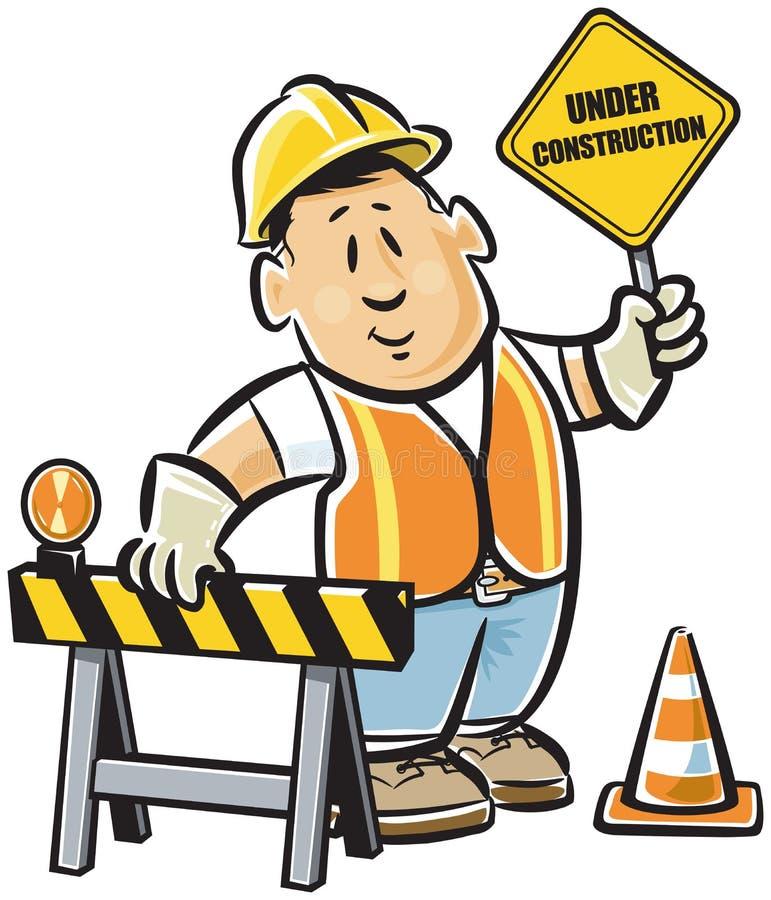 Download Construction worker stock vector. Image of helmet, layman - 21780272