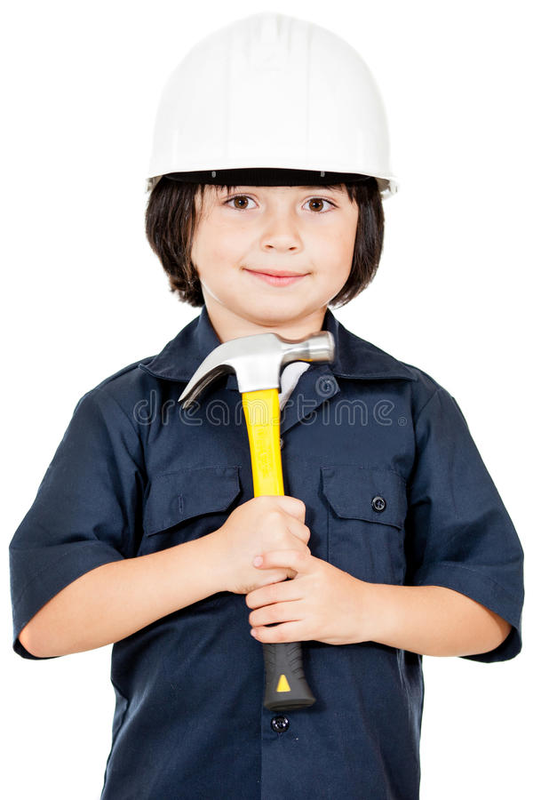 Download Construction worker stock image. Image of young, smile - 24917445