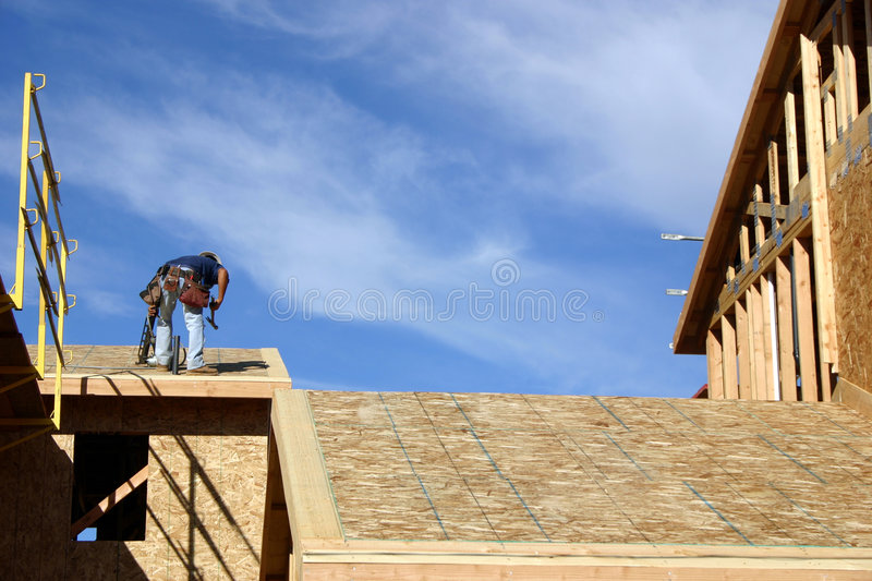 Download Construction Worker stock photo. Image of building, house - 25782