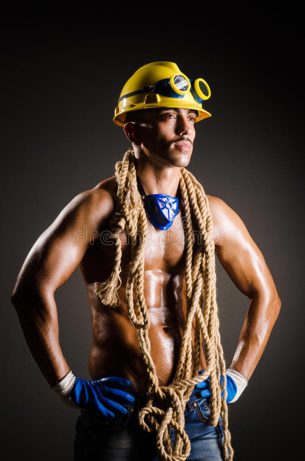 Download Construction worker stock photo. Image of gear, industry - 28418174