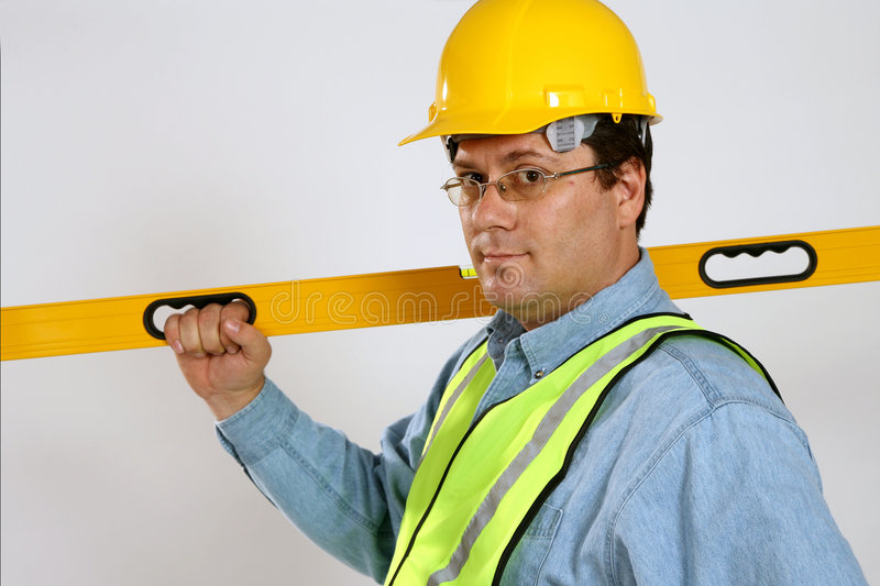 Download Construction worker stock image. Image of skilled, reflective - 4428855