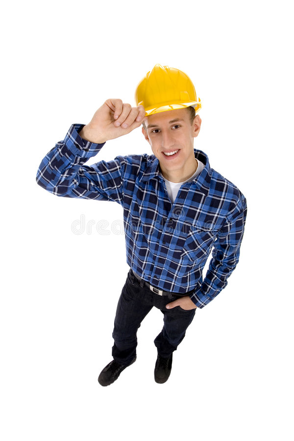 Download Construction Worker stock image. Image of builder, view - 6785109