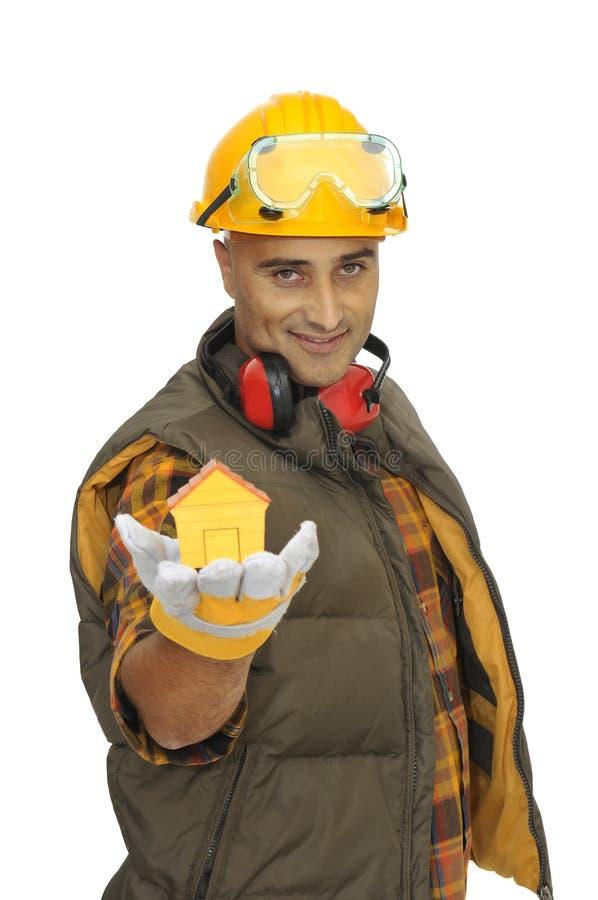 Download Construction worker stock image. Image of develop, inside - 9805159