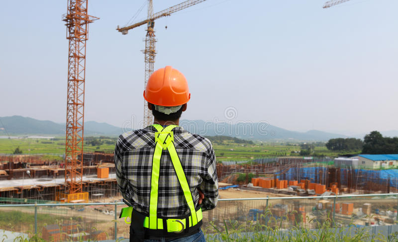 Download Construction worker stock photo. Image of plan, professional - 33684644