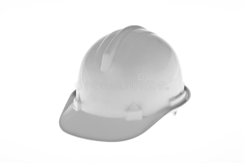 Construction worker hard hat stock image