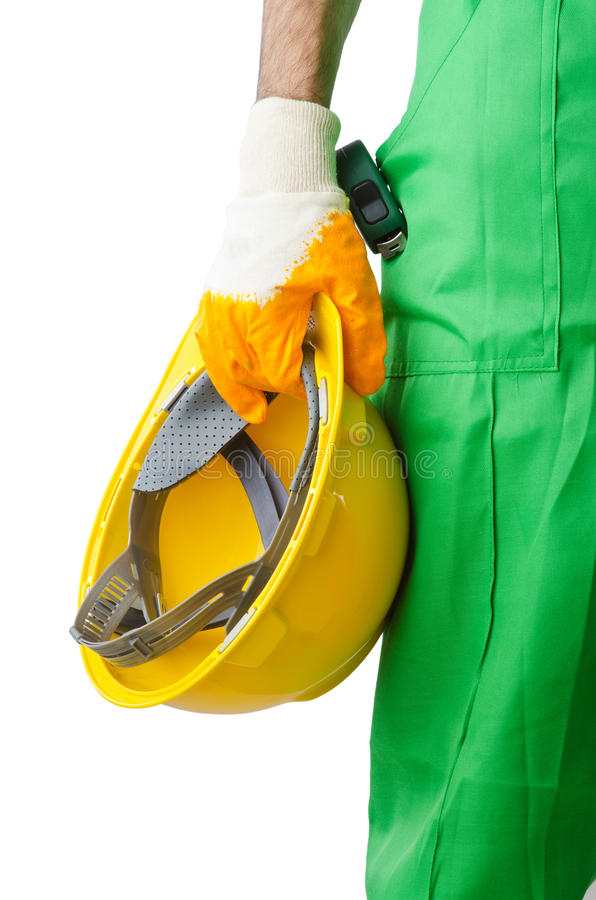 Download Construction Worker Isolated Stock Photo - Image: 24458522