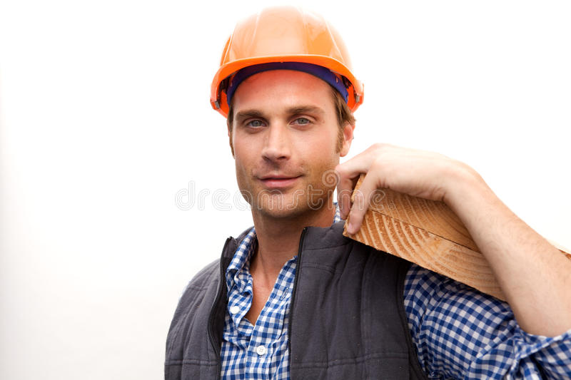 Download Construction Worker On The Job Stock Photo - Image: 10348610