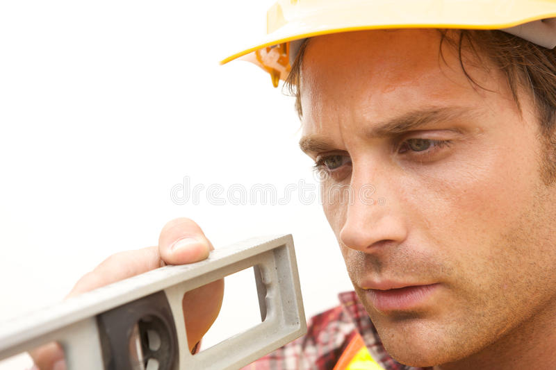 Download Construction Worker On The Job Stock Image - Image: 10348731