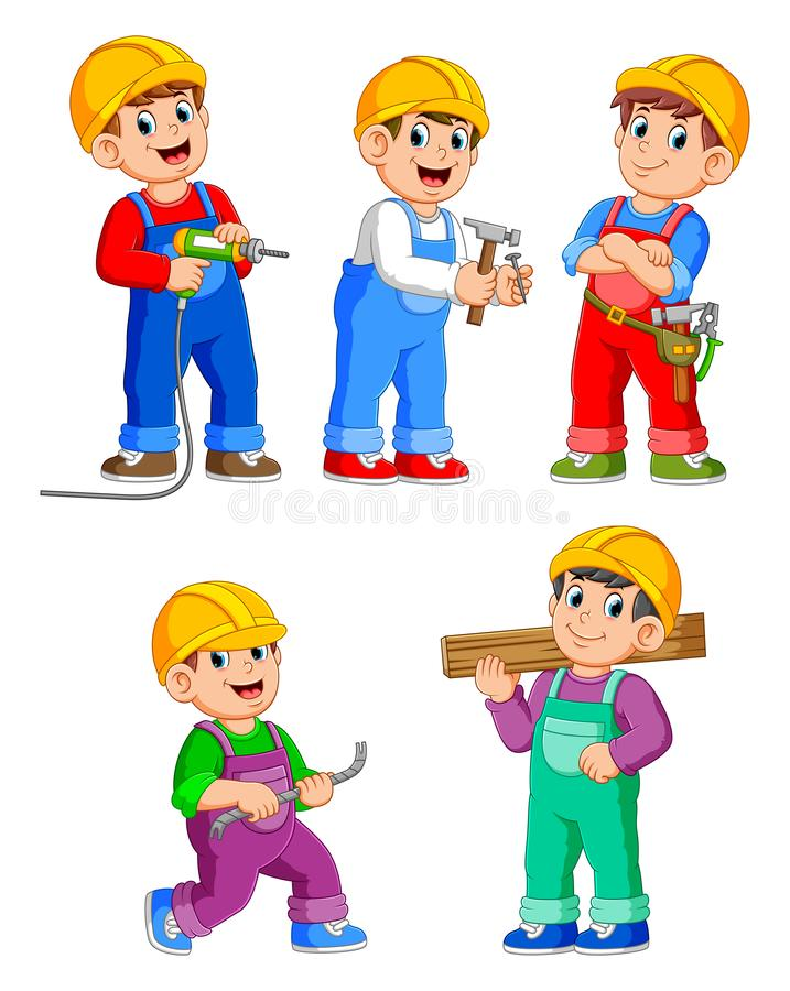 63 Construction Worker Cartoon Free Stock Photos Stockfreeimages