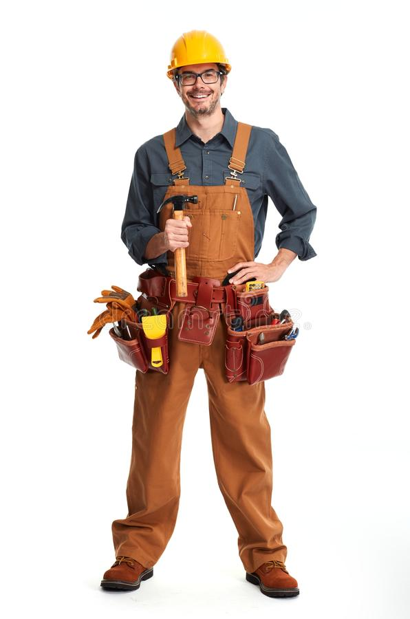 Construction worker. royalty free stock photos