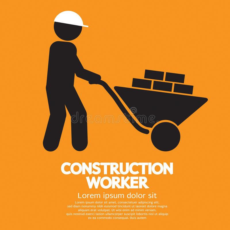 Construction Worker. vector illustration