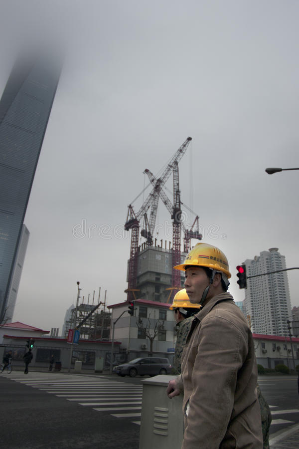 Free Construction Workers China Royalty Free Stock Images - 22526749