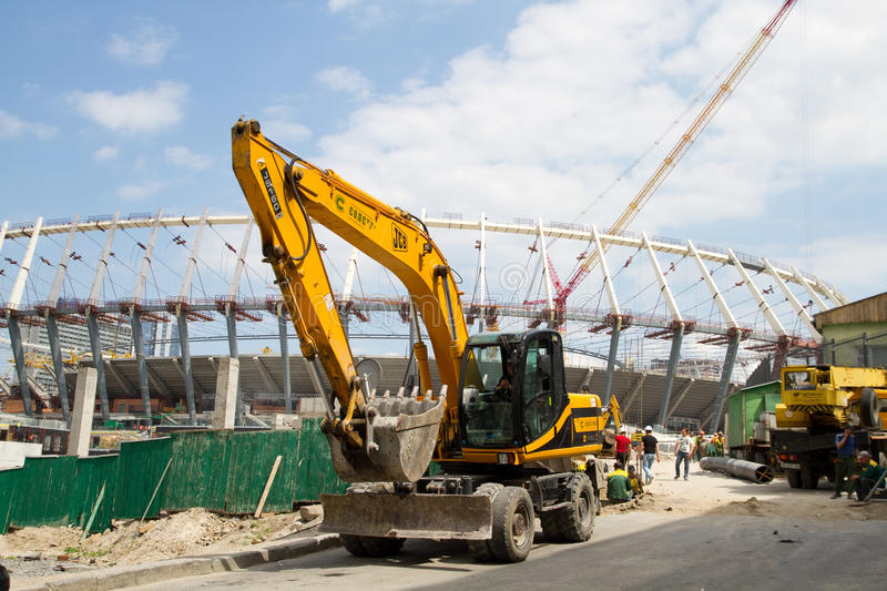 Download Construction Works Of Kyiv's Olympic Stadium Editorial Stock Photo - Image: 23237158