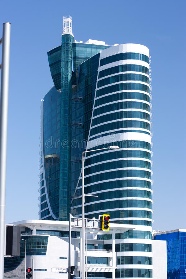 Constructions à Astana photos libres de droits