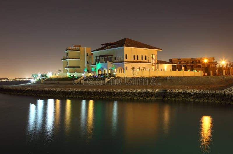 Constructions à la perle, Doha images libres de droits