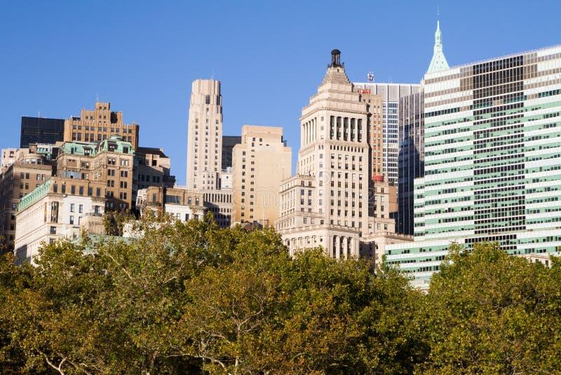 Constructions à New York City image stock