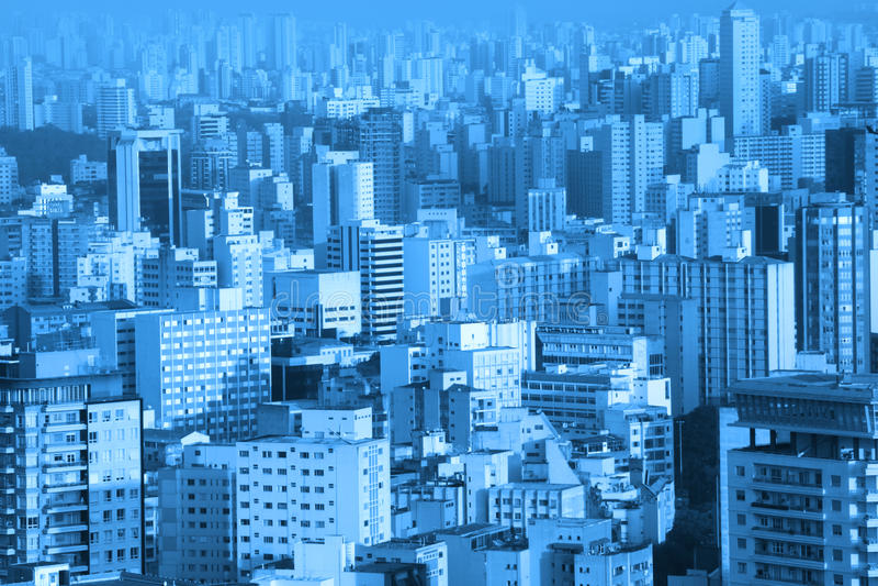 Constructions à Sao Paulo photo libre de droits